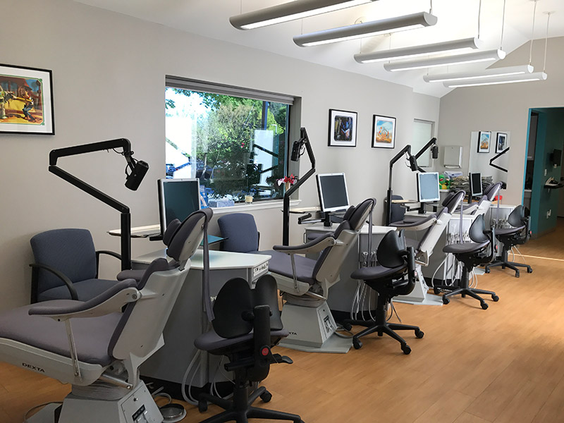 Palo Alto Orthodontics office